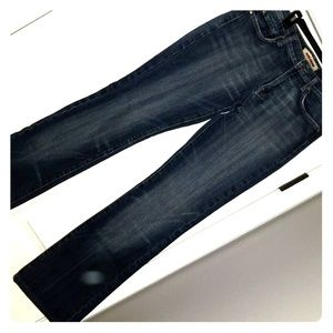 AVALANCHE boot cut Jeans